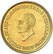 2½ thaler Friedrich Franz I – avers