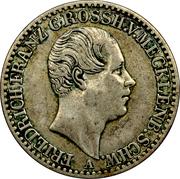 ⅙ thaler Friedrich Franz II – avers