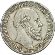 2 Mark - Friedrich Franz II – avers
