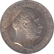 1 vereinsthaler - Friedrich Franz II (règne) – avers
