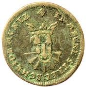3 pfennig Adolf Friedrich II – avers