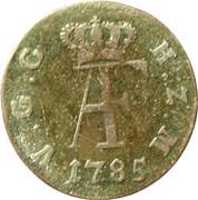 3 Pfennig - Adolf Friedrich III – avers
