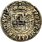 1/48 Thaler - Adolph Friedrich II. – avers