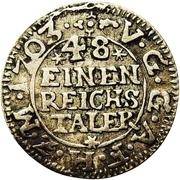 1/48 Thaler - Adolph Friedrich II. – revers