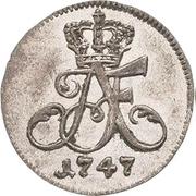 1/48 Thaler - Adolf Friedrich III. – avers