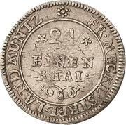 1/24 Thaler - Adolf Friedrich III. – revers
