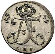 1/24 Thaler - Adolf Friedrich III. – avers