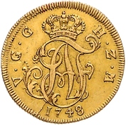 5 Thaler - Adolf Friedrich III. – avers