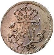 1 Pfennig -  Adolf Friedrich III. – avers