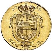 1 Pistole - Adolf Friedrich IV. – revers