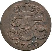 6 Pfennig - Adolph Friedrich IV. – avers