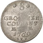 8 Gute Groschen - Adolf Friedrich IV. – revers