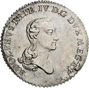 16 Gute Groschen - Adolf Friedrich IV. – avers