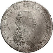 ⅔ Thaler - Adolf Friedrich IV. – avers