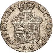 1/12 Thaler - Adolf Friedrich IV. – avers