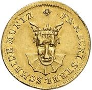 3 Pfennig - Adolf Friedrich II. (Gold pattern strike) – avers