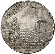1 Thaler- Adolf Friedrich III. (Reformation) – revers