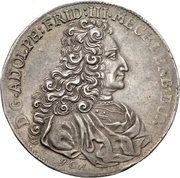 1 Thaler- Adolf Friedrich III. (Reformation) – avers