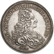 2 Thaler- Adolf Friedrich III. (Reformation) – avers