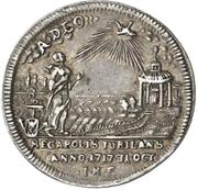 1 Ducat - Adolf Friedrich III. (Silver pattern strike; Reformation) – revers