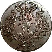 3 Pfennig Adolph Friedrich IV – avers