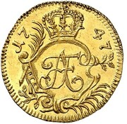 1 thaler Adolf Friedrich III – avers