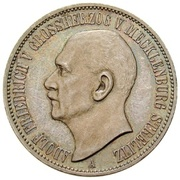 3 Mark - Adolph Friedrich V – avers