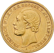20 Mark - Friedrich Wilhelm – avers