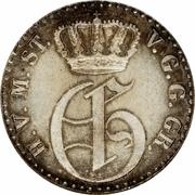 1/48 thaler - Georg – avers
