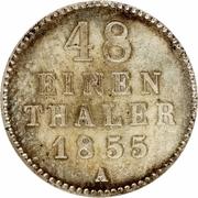 1/48 thaler - Georg – revers