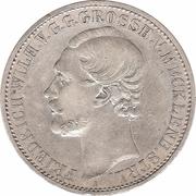 1 thaler Friedrich Wilhelm – avers