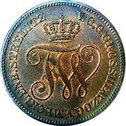 5 Pfennige - Friedrich Wilhelm – avers