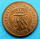 1 Pfennig - Friedrich Wilhelm – avers