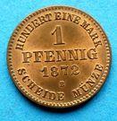 1 Pfennig - Friedrich Wilhelm – revers