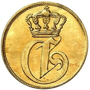 1 pfennig Georg – avers
