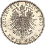 2 Mark - Friedrich Wilhelm – revers