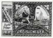 30 Heller (Meggenhofen) -  revers