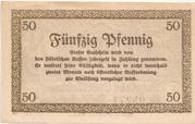 50 Pfennig (Meiningen) – revers