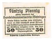 50 Pfennig (Meiningen; Handels- und Gewerbekammer) – revers
