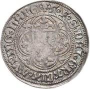 1 schildgroschen Friedrich II,  Friedrich IV & Sigismund – revers