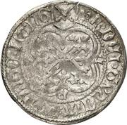1 Schwertgroschen - Friedrich II. der Sanftmütige – revers