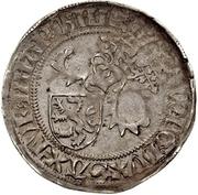 1 Horngroschen - Ernst, Wilhelm III, and Albrecht (Leipzig) – avers