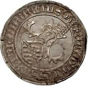 1 Horngroschen - Ernst, Wilhelm III, and Albrecht (Leipzig) – revers