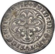 1 Groschen - Friedrich III. der Strenge – avers