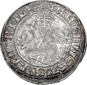 1 Horngroschen - Ernst, with Albrecht and Wilhelm III. (Colditz) – avers