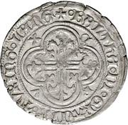 1 Fürstengroschen -  Balthasar, Landgraf von Thüringen (Sangerhausen) – avers