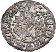 1 Zonsgroschen - Friedrich III, with Johann, and Georg (Freiburg) – avers