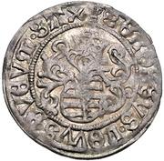 1 Zonsgroschen - Friedrich III, with Johann, and Georg (Freiburg) – revers