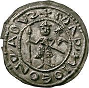 1 Brakteat - Konrad I. der Große – avers