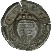 1 Pfennig - Wilhelm III. von Thüringen (Hohlpfennig) – revers
